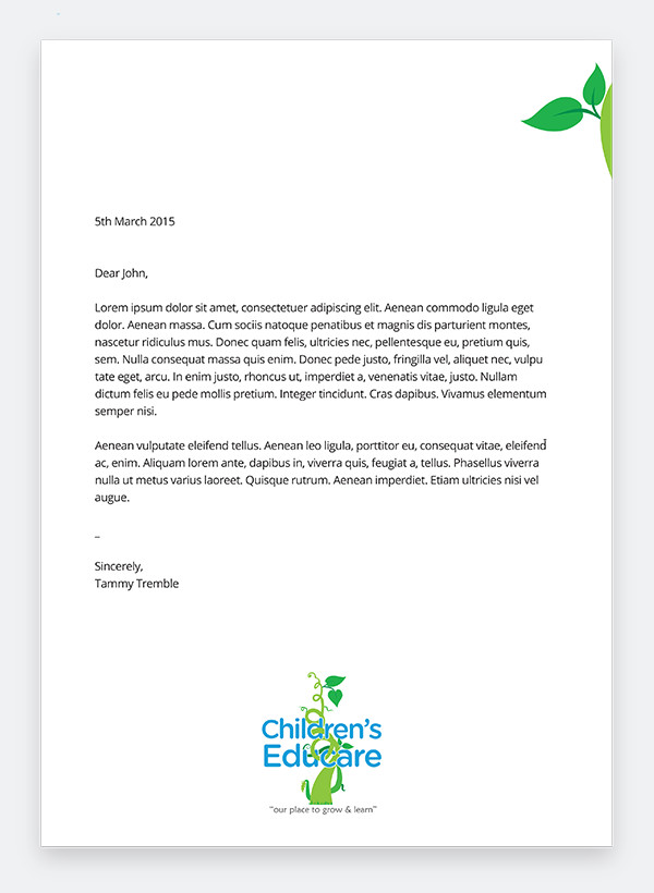 childrens-educare-letterhead